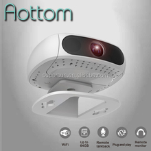 2.0MP Mini Wireless IP Camera P2P Wifi Cube Cam 1080P Wireless indoor/outdoor Camera Support Android, iPhone OS