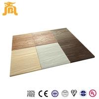 Light Weight Durable Natural Wooden Grain Green Building Materials