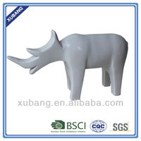 Resin Rhino decor Children room Animal Table Decoration
