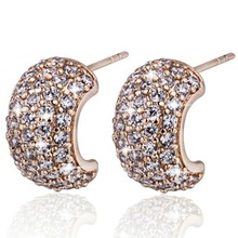 Cluster diamond earring wholesale women earring