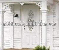 2panel steel glass door with wooden or steel edge, steel glass insert exterior door , main door design, door design,