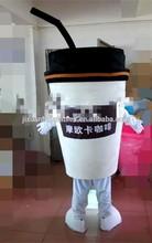 taza de café de traje de la mascota