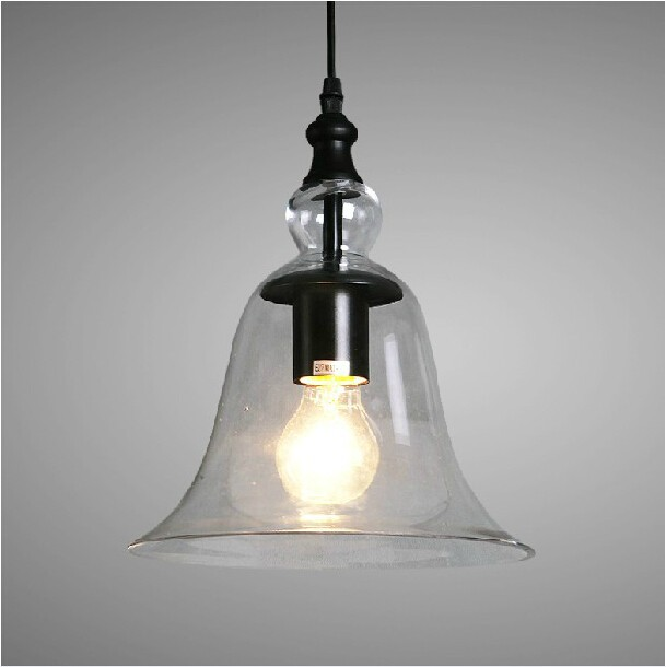 Home product categories pendant light vintage - Clear glass ceiling light ...