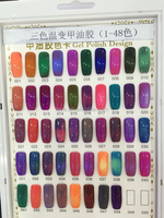 Bulk Package Temperature Change Gel Polish Color Changing Gel Polish 48 color choose