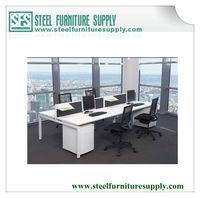 office workstation / open style office desk/ 4 seats staff desk