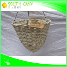 Personalized top pure natural handmade plastic basket with lid