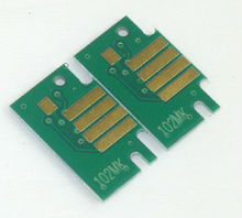 PFI-102 BK,MBK,C,Y,PFI-104M ink cartridge chip for Canon IPF750 IPF755 Plotter