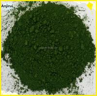 Green chromium oxide powder