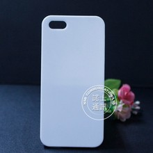 3D glossy or matte sublimation blank custom phone case with your own design printing cover for iphone 5 5s