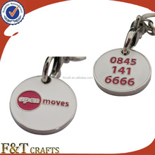 Custom made trolley coin for singapore/promotional high quality trolley coin/custom trolley coin keyring