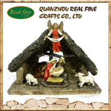 New product religious polyresin nativity sets wholesale