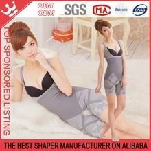 Bamboo charcoal fiber NEW LADY SEXY WOMENS Shapewear UndERweAr Slimming Animal Print Bodysuit Y77B