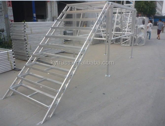 Stade De L 39 Aluminium De Sc Ne Mobile Portable Escaliers Pliant Portable Escalier Affichage Sur