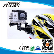 Summer promotion helmet/bike/sea hd action camera 1080p underwater