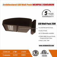 Can be customized extended lens led wall pack light