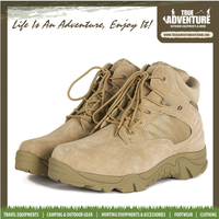 TRUE ADVENTURE A052 Hotsale High Quality Men's Leather Boots Outdoor Hunting Cheap Military Leather Boots