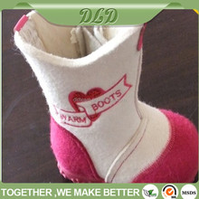warm felt kids shoes, durable children boots