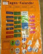 Velcro Days, Numbers, Years, Weather Felts Chart, Wall Charts For Kids For Ideal Nursery & Pre School