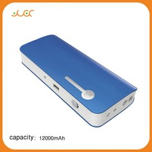 High capability 12000mAh mobile power banks