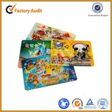 3D Lenticular Card/3d plastic card/3D Lenticular plastic card
