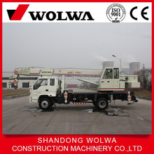 max lifting weight 8 ton truck mounted crane with u type telescopic boom