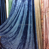 100% polyester embossed velvet fabric Italy velvet for curtian