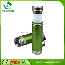 Factory supplier 1W LED pocket mini aluminum led torch flashlight
