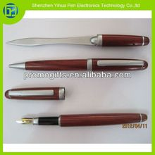 2014 Wholesale china wood pen set kits,wooden pen set kits,Eco-friendly materials wooden pen