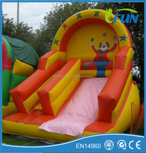 new style inflatable slide / inflatable clown slide / inflatable slide on sale