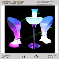 led highboy furniture sets glow 43 high highboy table and chair sets