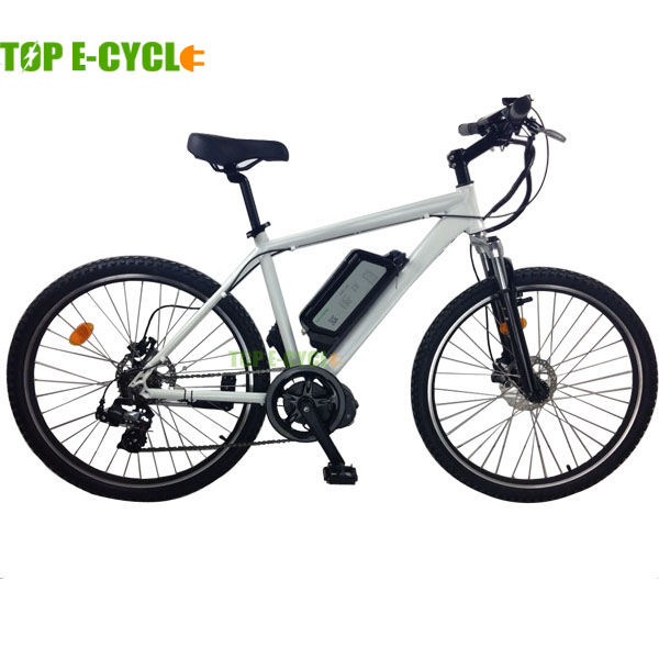 Top e cycle 8fun central motor electric mountain bike for Best electric bike motor