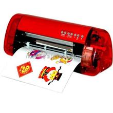 2015 New arrival fashion design Desktop A4 size Mini vinyl printer plotter cutter for sale