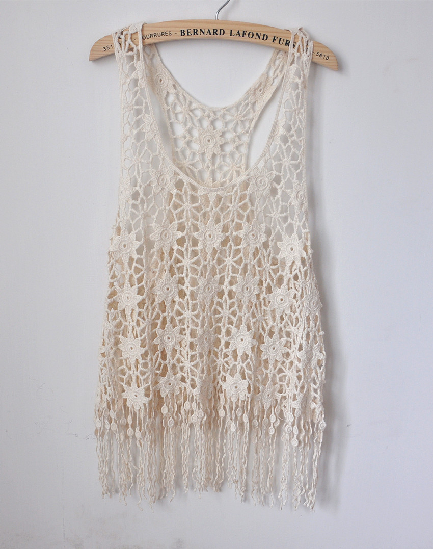 Crochet Lace Tank Top Pattern images