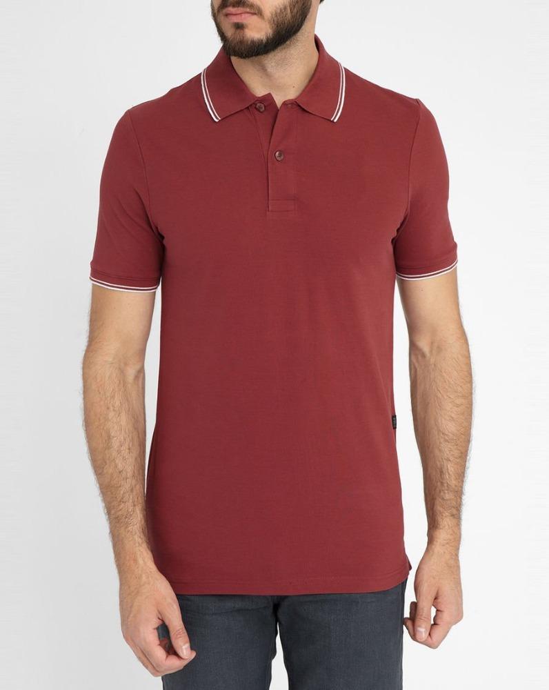 Custom color combination collar design polo shirts for man for Polo shirt color combination