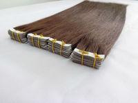 100% Chinese virgin Human Hair Skin PU Weft Hair Extension
