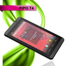 Dual sim mobile phone WIFI 3G WCDMA GPS +Bluetooth PIPO T4 dual core moblie phone