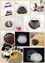 TOP sale Blister container for cake display case