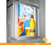 High Quality&hottest led Hanging Crystal Light frame,led crystal light box frame,mini hanging photo frame