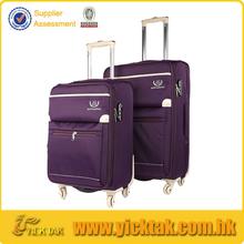Purple Color Universal Wheel Ergo Luggage