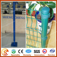 China supplier Shengcheng metal posts Galvanized steel fence poles