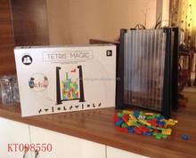 New Design Interesting 3D Building Block For Children Tetris Game