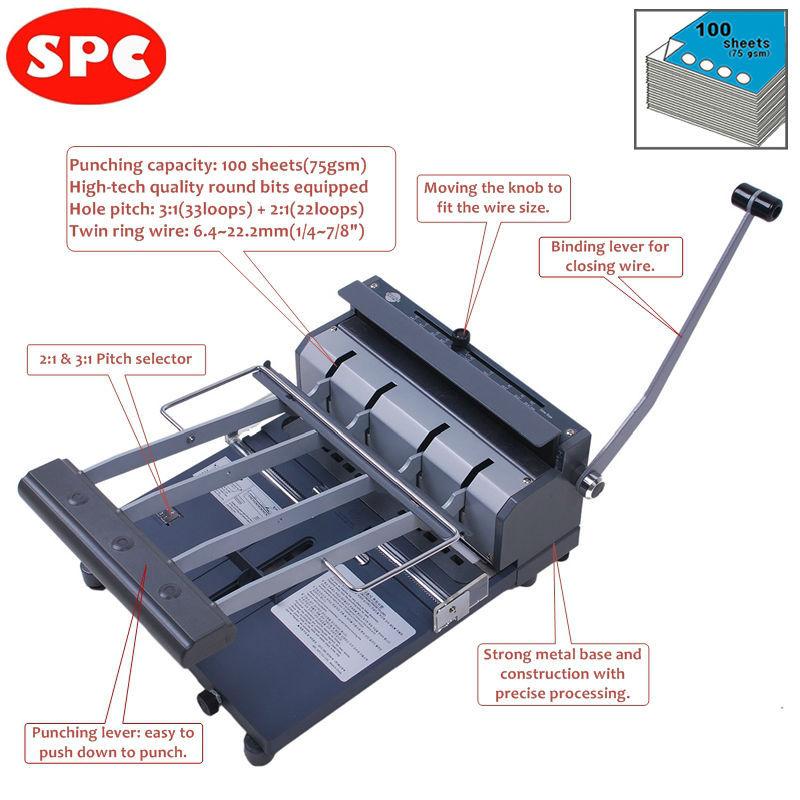 notebook binding machine