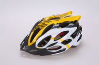 (2015) quality sport helmet PC in-mold cycling helmet (with 22 air vents ) with ce China factory