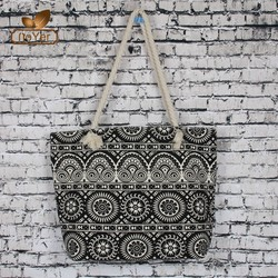 2015 new arrival stylish OEM production canvas tote bag fashion canvas bag for shopping
