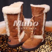 Warm Winter Fashion Girl Lamb Wool Snow Boot