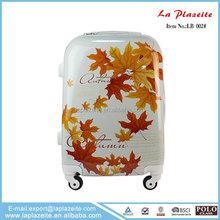 hotsale abs plus pc custom suitcase, decorative vintage suitcase