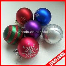 tree decorative printing christmas ball ornament