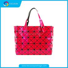 Magic Changeable Soft Pu Leather Handbag, Lady Handbag