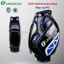 High Qualtiy PU Golf Bag for Golf Clubs Set in Sale 2015