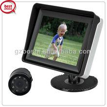 BOSHI 3.5inch digital screen monitor with CCD camera